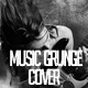 Music Grunge Cover Facebook - GraphicRiver Item for Sale