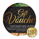 Gift Voucher Vol 3 - GraphicRiver Item for Sale