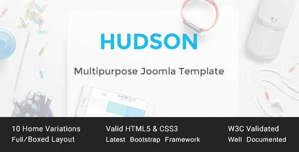 HUDSON - Multipurpose HTML Template