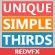 Unique Simple Thirds - VideoHive Item for Sale