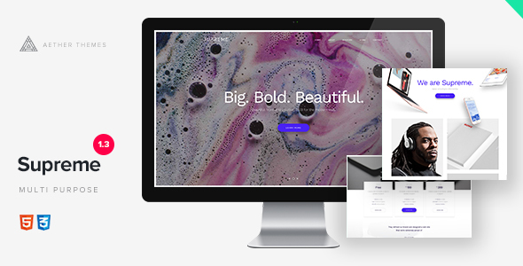 Supreme - Multi-Purpose HTML Template