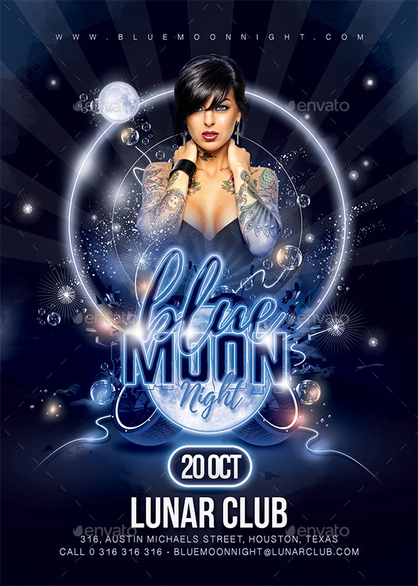 Blue Moon Party - Clubs & Parties Events