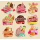 Food Label And Sticker. - GraphicRiver Item for Sale