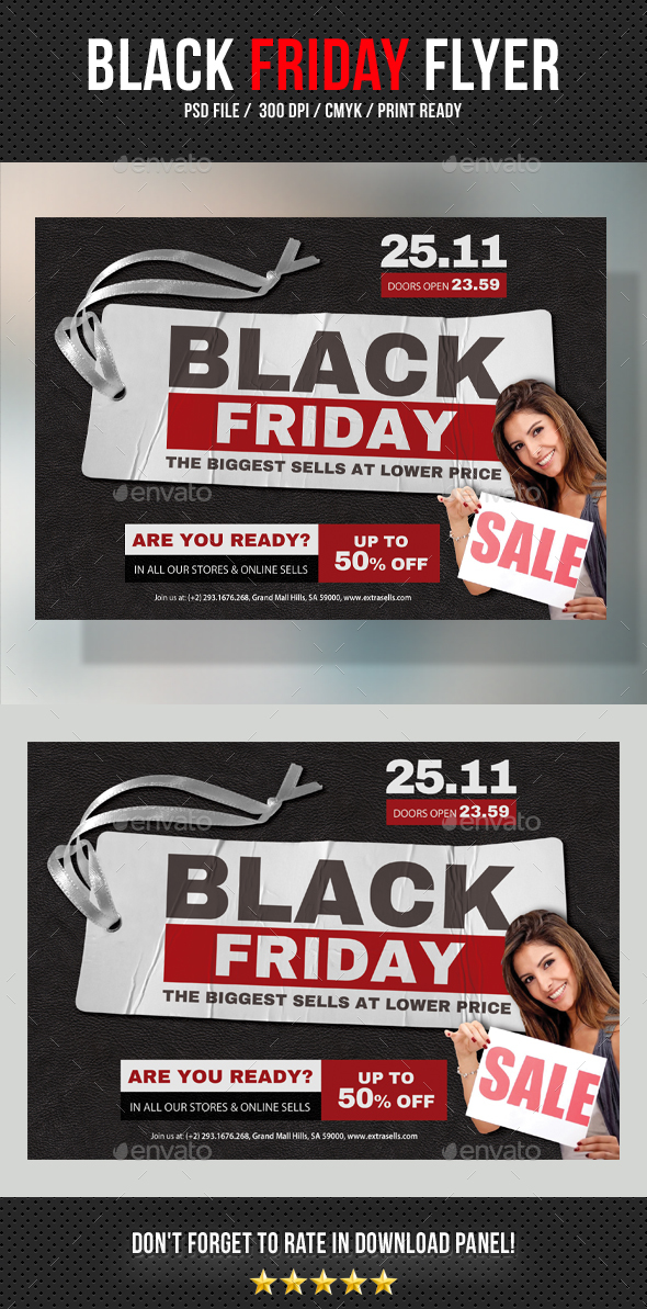 Black Friday Flyer V05