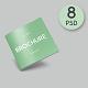 Square Brochure / Magazine Mockup - GraphicRiver Item for Sale