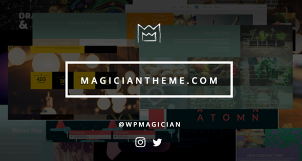 Magician WordPress Theme