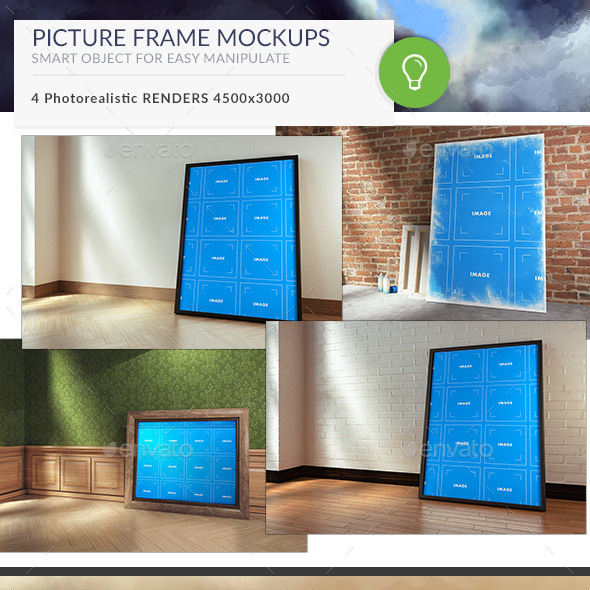Picture Frame Mockups - Posters Print