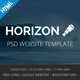 Horizon - Corporate Business Multipurpose Template Nulled