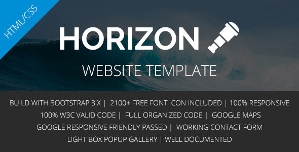 HORIZON – Multipurpose HTML5 Template
