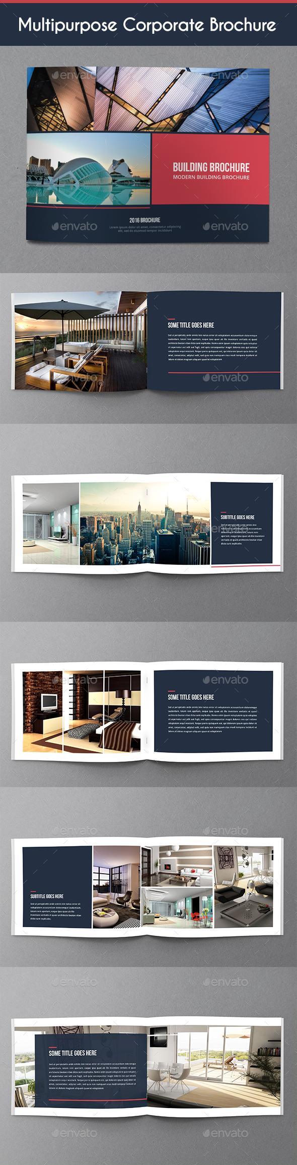 Multipurpose Corporate Brochure - Corporate Brochures