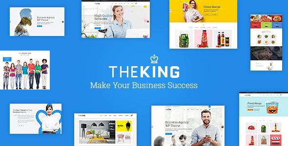 TheKing - Creative Responsive WordPress Theme - Creative WordPress