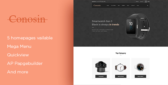 Image of Leo Conosin Responsive Prestashop Theme