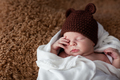 little newborn boy sleeping - PhotoDune Item for Sale