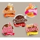 Food Label Or Sticker Design Template - GraphicRiver Item for Sale