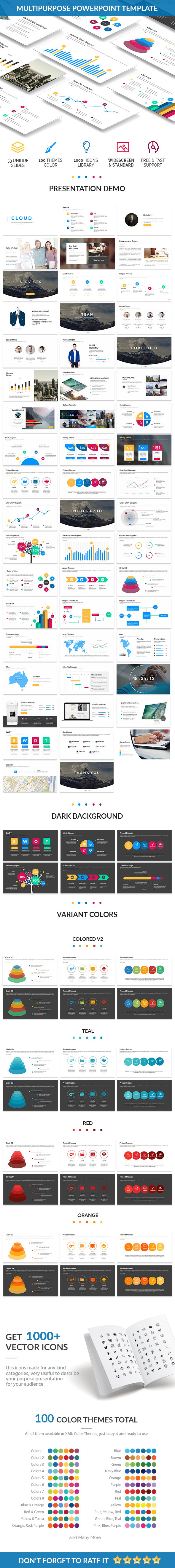 Omega - Creative Powerpoint Template - Creative PowerPoint Templates