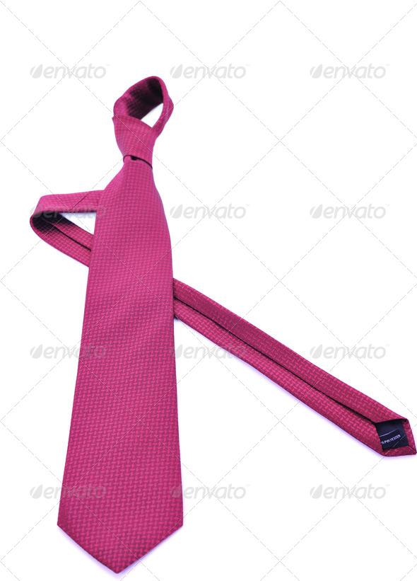 necktie isolated - Stock Photo - Images