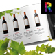 Wine Brochure v2 - GraphicRiver Item for Sale