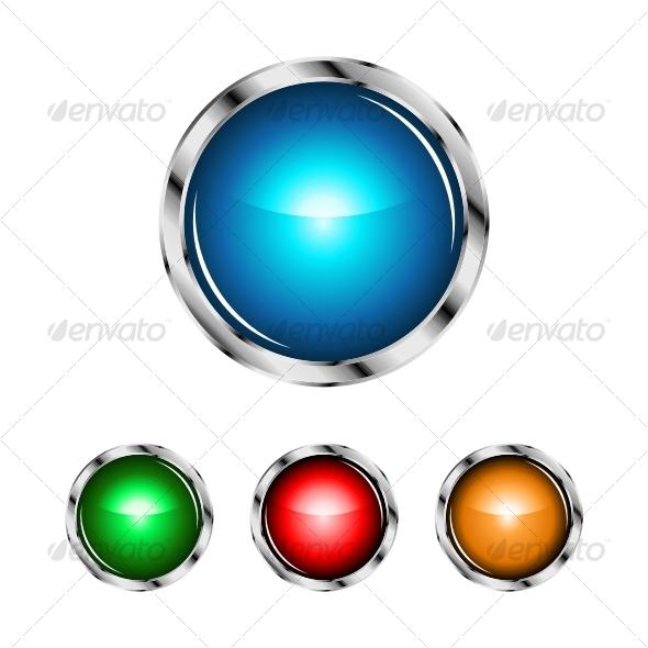 Glossy sphere designs - Decorative Symbols Decorative
