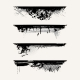 Set of grunge edges - GraphicRiver Item for Sale