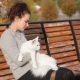 Young Lady With Maine Coon Cat - VideoHive Item for Sale
