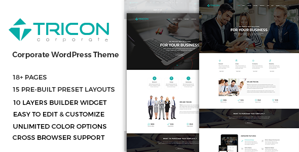 Tricon – Multipurpose WordPress Theme