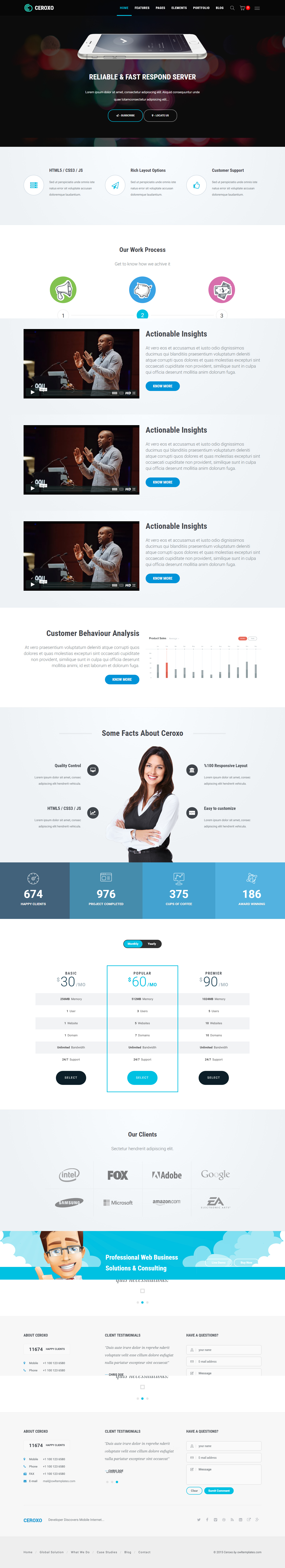 CEROXO - Bootstrap Responsive Multi-Purpose HTML5 Template by ...