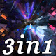 Abstract Star - VJ Loop Pack (3in1) - VideoHive Item for Sale