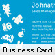 Fresh and Happy Business Card - GraphicRiver Item for Sale