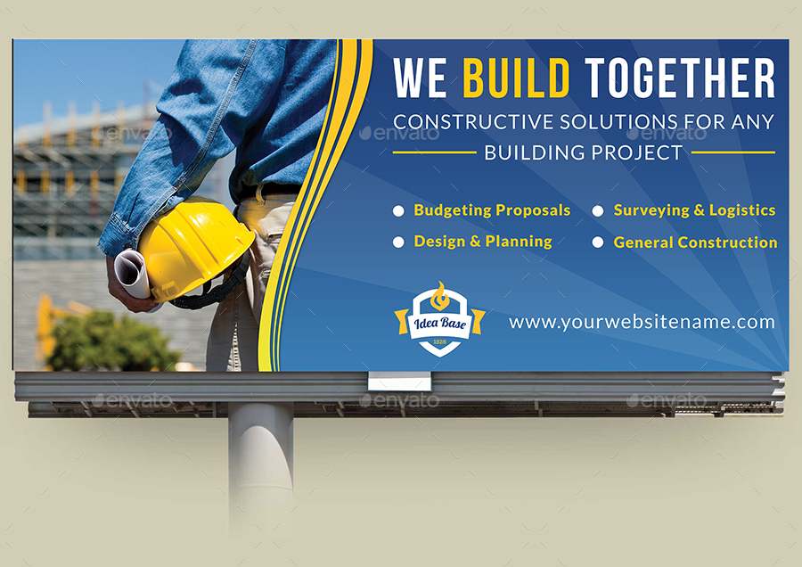 Construction Advertising Bundle Vol 3 By Owpictures