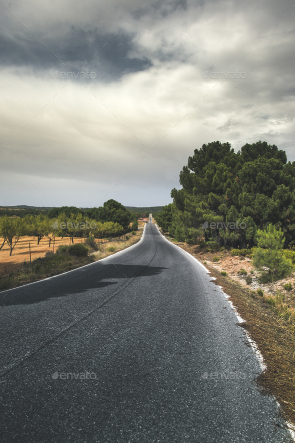 Road in the mountain - Stock Photo - Images