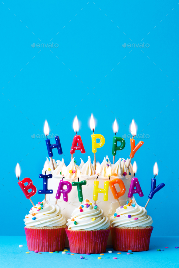 Surprising Happy Birthday Candles Stock Photo By Ruthblack Photodune Funny Birthday Cards Online Elaedamsfinfo