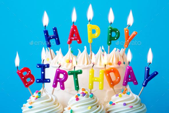 Happy Birthday Candles Stock Photo By Ruthblack Photodune