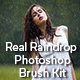Real Raindrop Photoshop Brush Kit - GraphicRiver Item for Sale