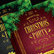 Golden Christmas Party Flyer - GraphicRiver Item for Sale