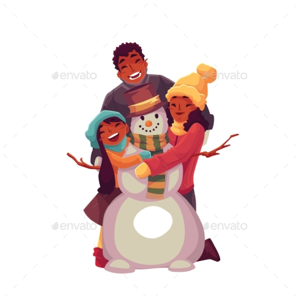 Family Portrait of Family - People Characters