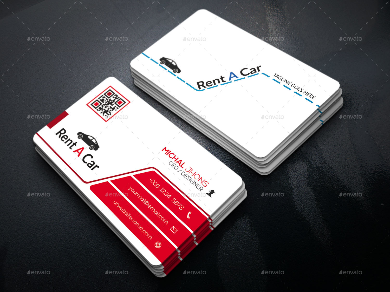 Rent a car business card by workertm graphicriver rent a car business card business cards print templates preview image set01screenshotg preview image set02screenshotg colourmoves