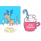 New Year and Christmas Greeting Card Set - GraphicRiver Item for Sale