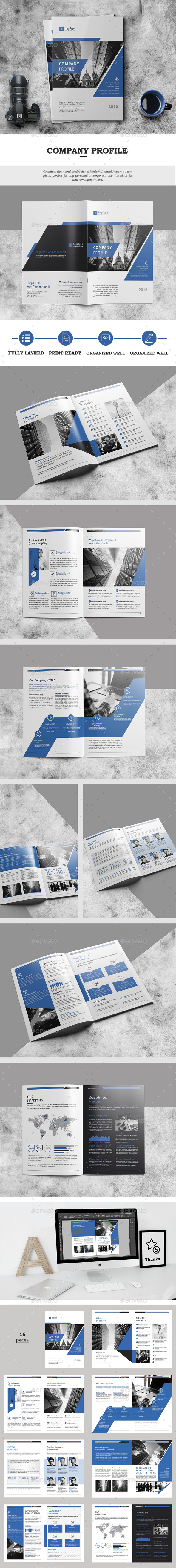 Company Profile 16 Pages - Catalogs Brochures