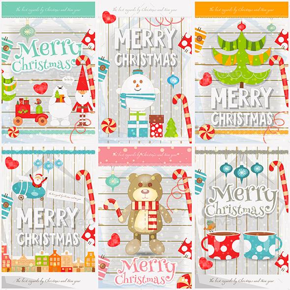 Merry Christmas Posters - Christmas Seasons/Holidays