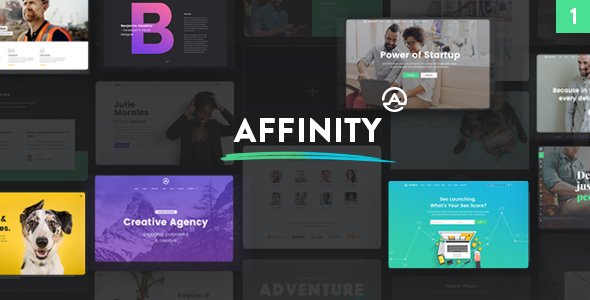 Affinity - A Genuinely Gigantic and Refreshing Multipurpose Theme
