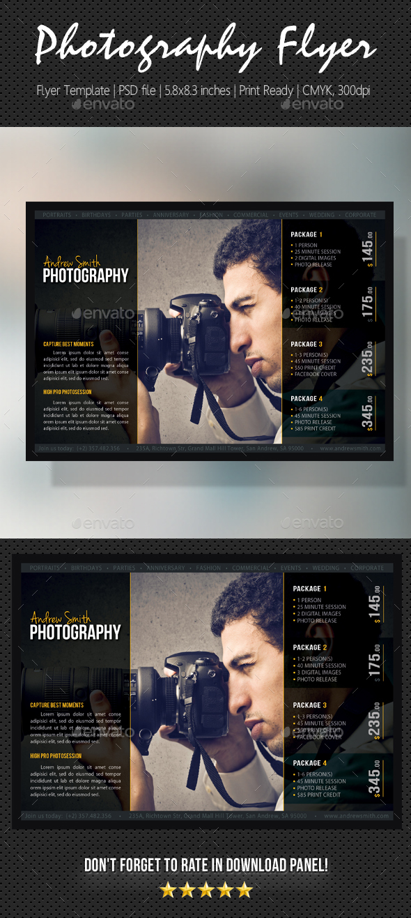 Photography Studio Flyer 22 - Corporate Flyers