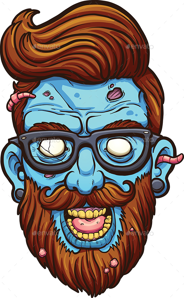 Hipster Zombie - Miscellaneous Characters