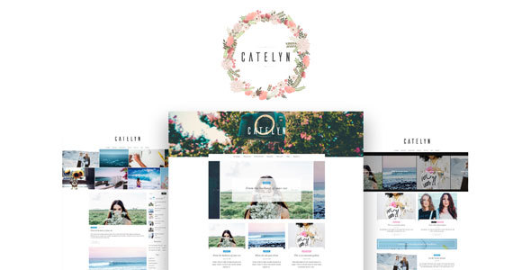 Catelyn – A WordPress Theme for Bloggers and Photographers
