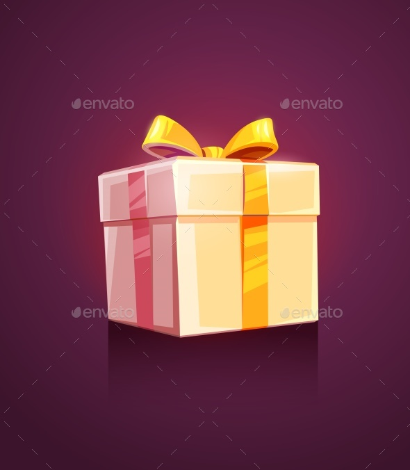 Christmas Holiday Gift Box Packing with Ribbon - Man-made Objects Objects