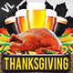 Thanksgiving Dinner V01 - GraphicRiver Item for Sale