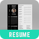 Resume - Donathan Hannibal - - GraphicRiver Item for Sale