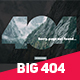 Big 404 Duotone Error - GraphicRiver Item for Sale