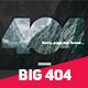 Big 404 Duotone Error - GraphicRiver Item for Sale
