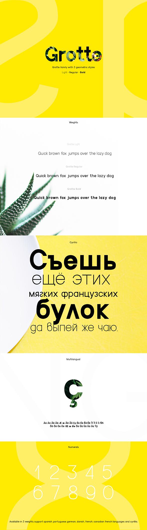 Grotte Font - Sans-Serif Fonts