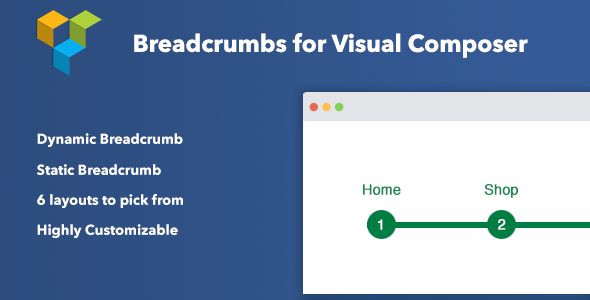 Breadcrumbs for Visual Composer - CodeCanyon Item for Sale